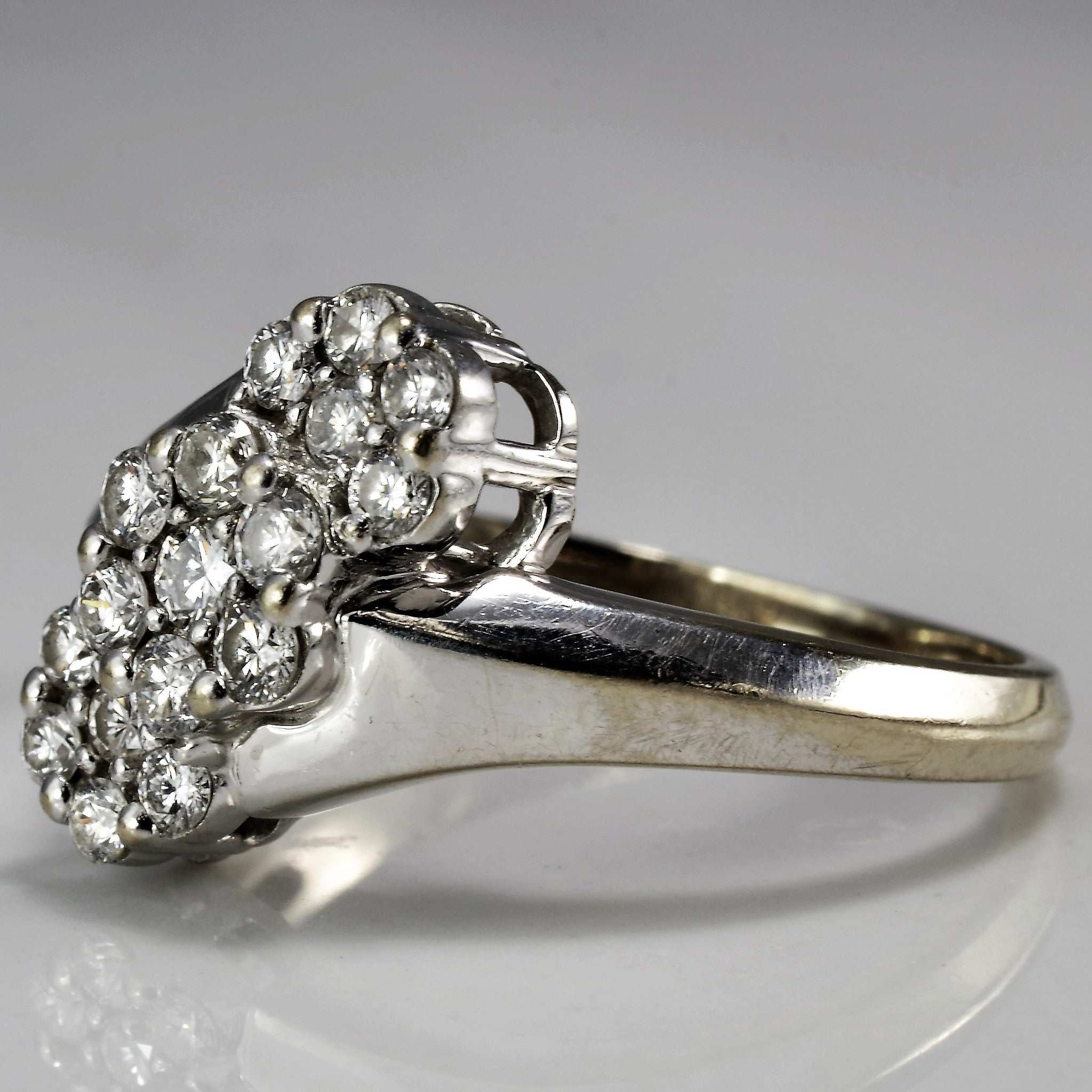Bypass Cluster Ring | 0.51 ctw, SZ 8 |