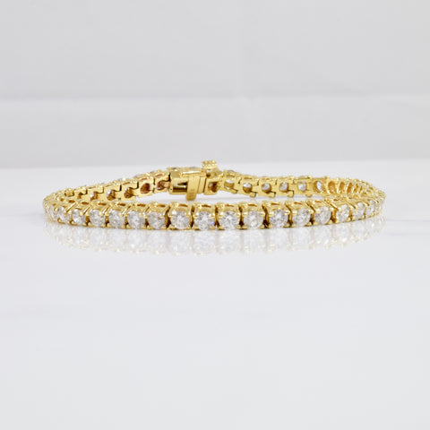 Diamond Tennis Bracelet | 5.00 ctw SZ 6.5"
