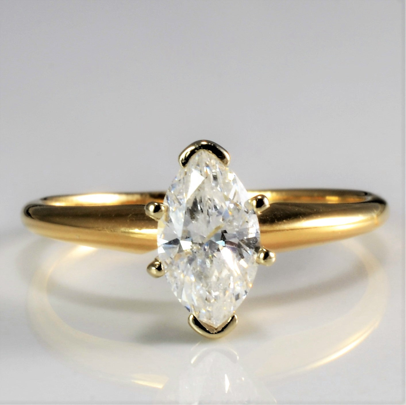 ring gold marquise sapphire and designers yellow diamond gemstone