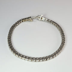 Pave Diamond Ladies Tennis Bracelet | 2.20 ctw, 7''|