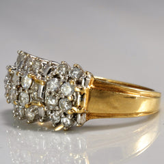 Brilliant Diamond Cluster Ring | 0.60 ctw, SZ 6.75 |