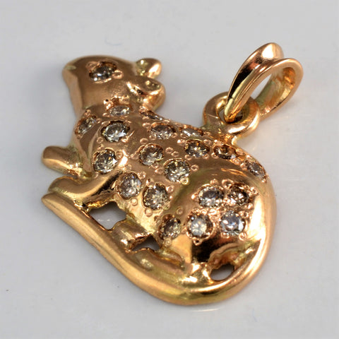 Diamond Rat Pendant | 0.25 ctw |