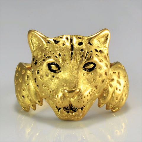 'Barclay Hill' Jaguar Ring | SZ 12 |