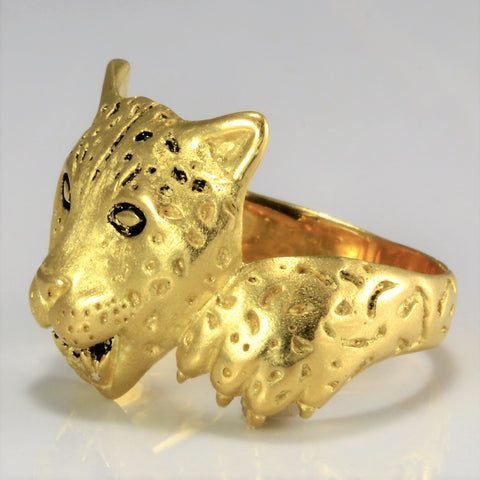 Barclay Hill Jaguar Design 5/100 made Featured Ring | SZ 12 |