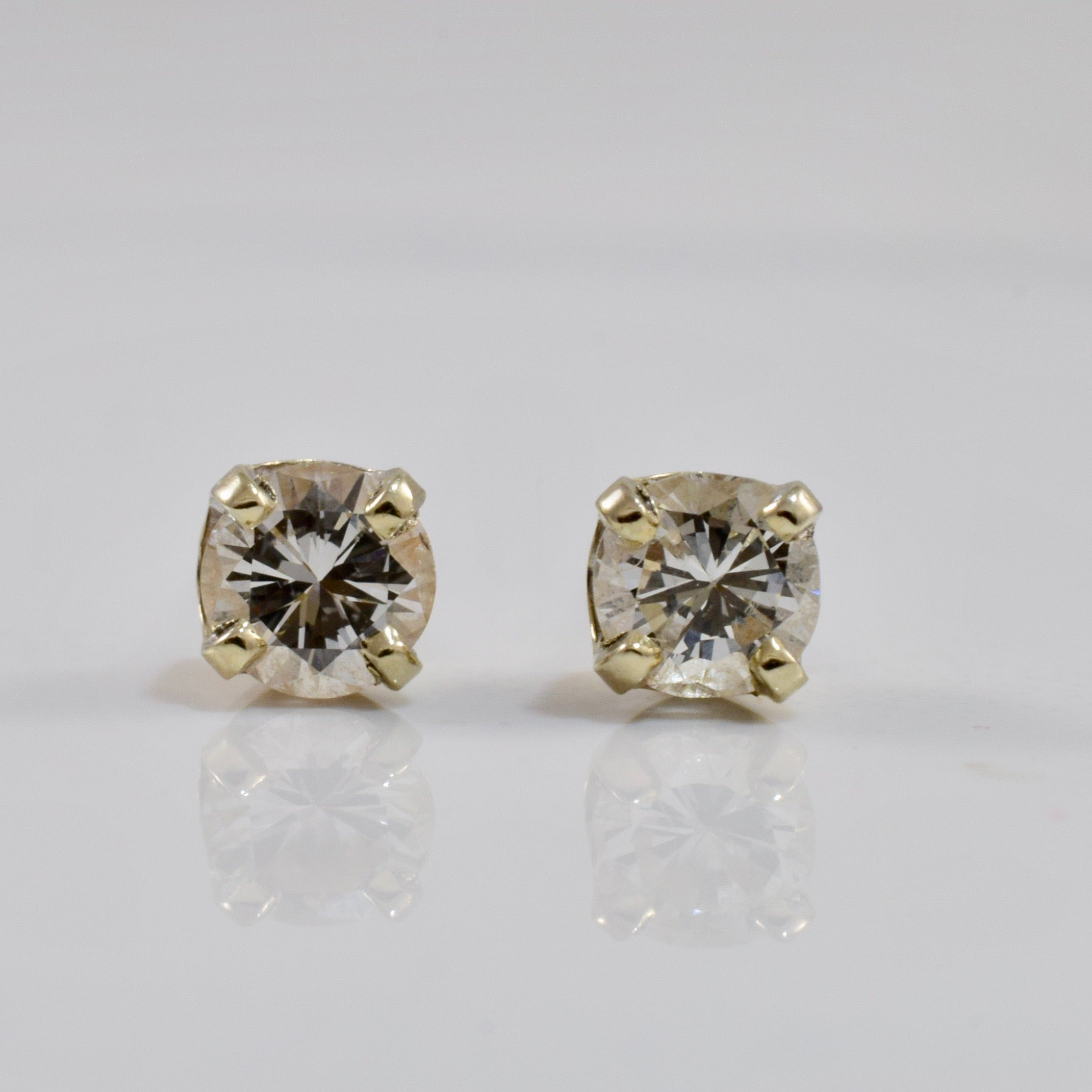 Diamond Stud Earrings | 0.38 ctw |