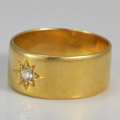 Est. 1890's Victorian Era Henry Williamson Band | 0.15 ct, SZ 9 |