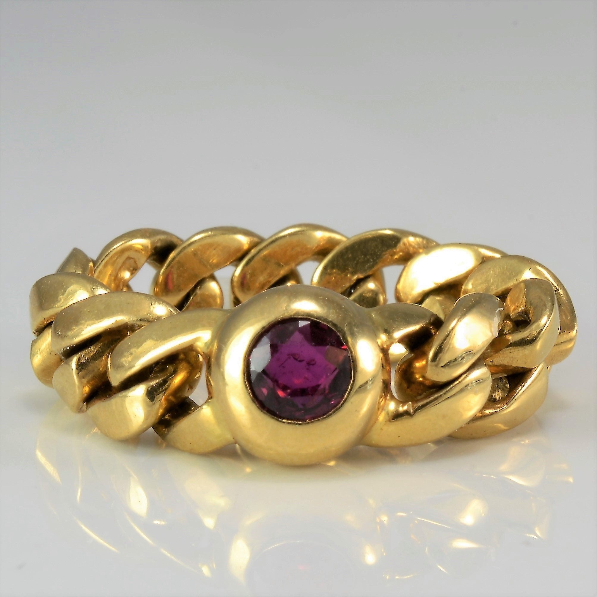 Chain Link Ruby Ring | SZ 5 |
