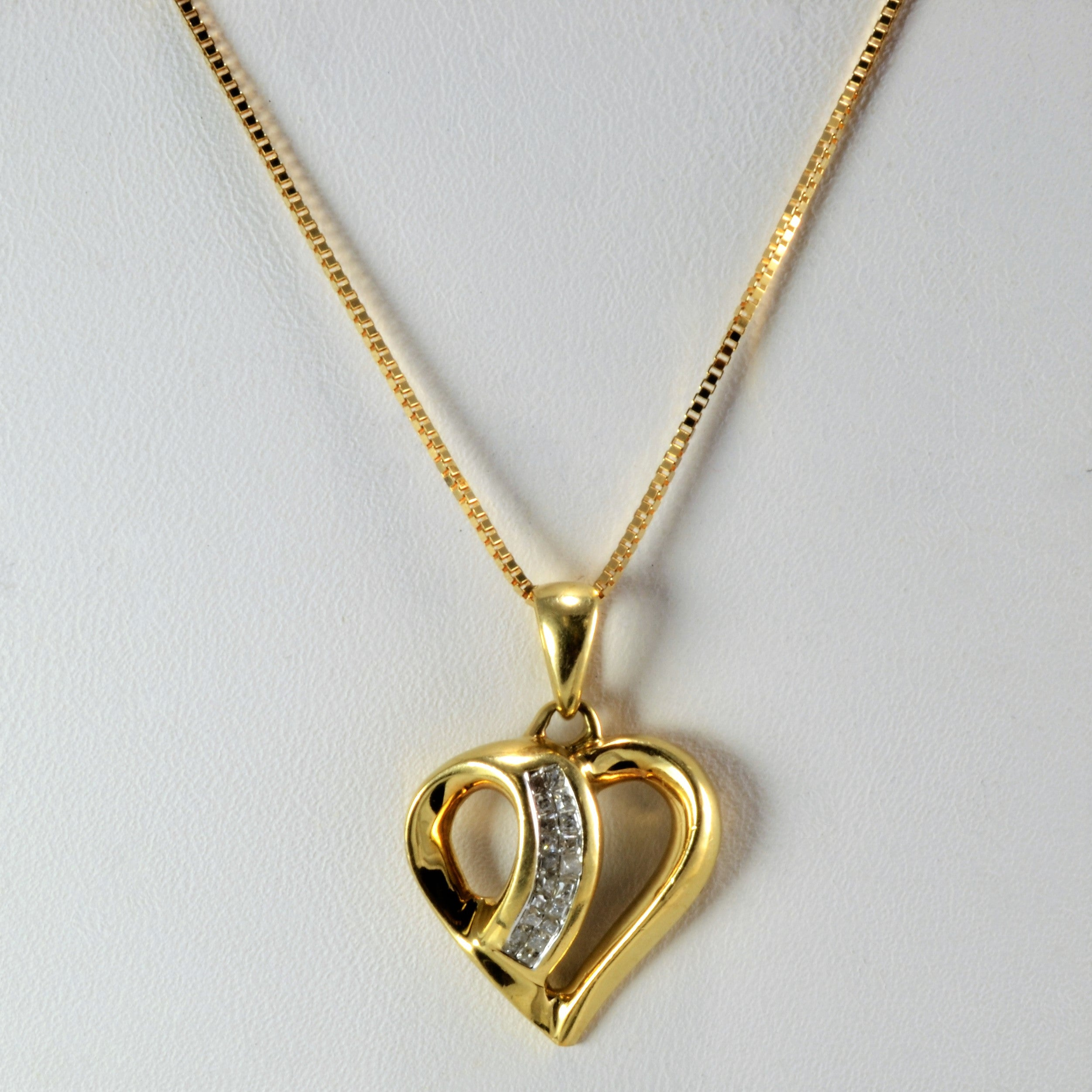 Heart shape diamond pendant necklace 100 ways heart shape diamond pendant necklace aloadofball Gallery