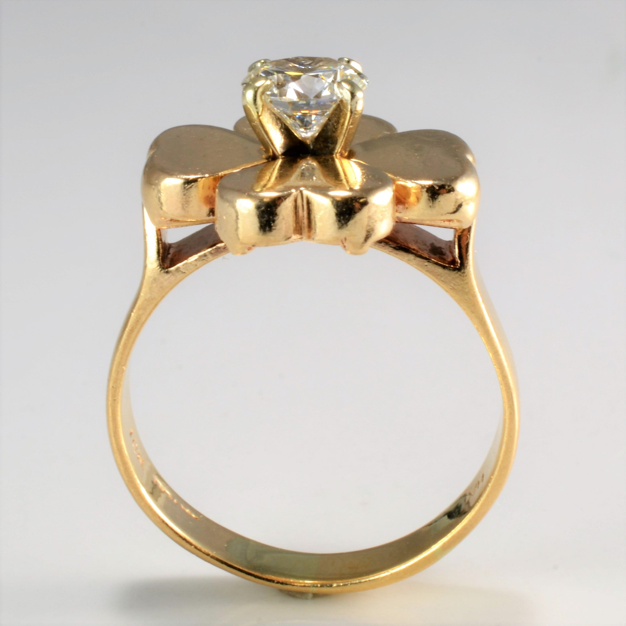 flower gala julez bryant gold yellow diamond ring