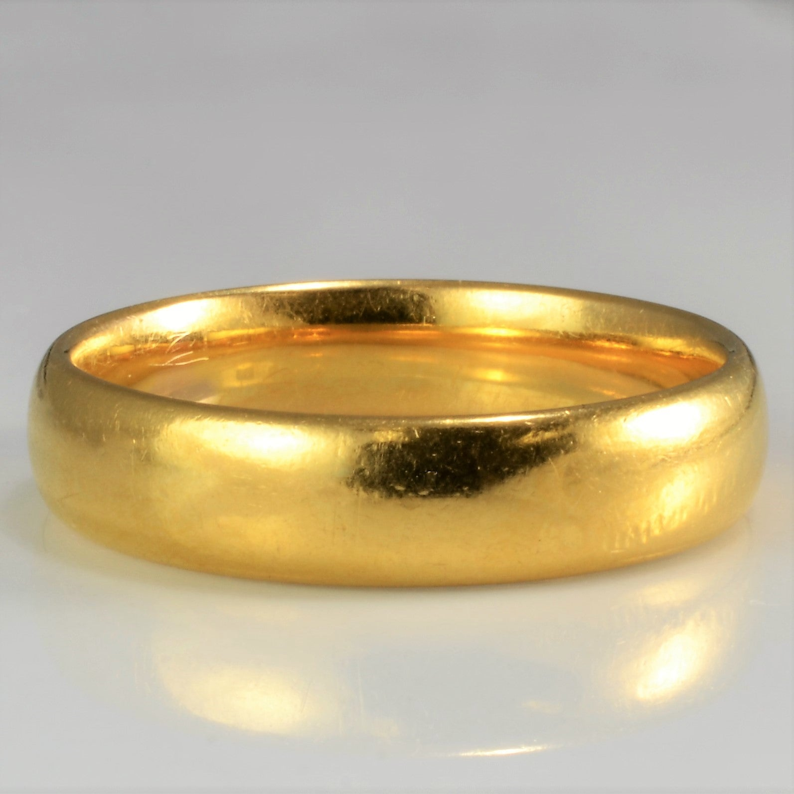 Men's 22K Yellow Gold Band | SZ 9|