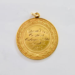 'Birks' National Typing Contest Medal Circa 1925