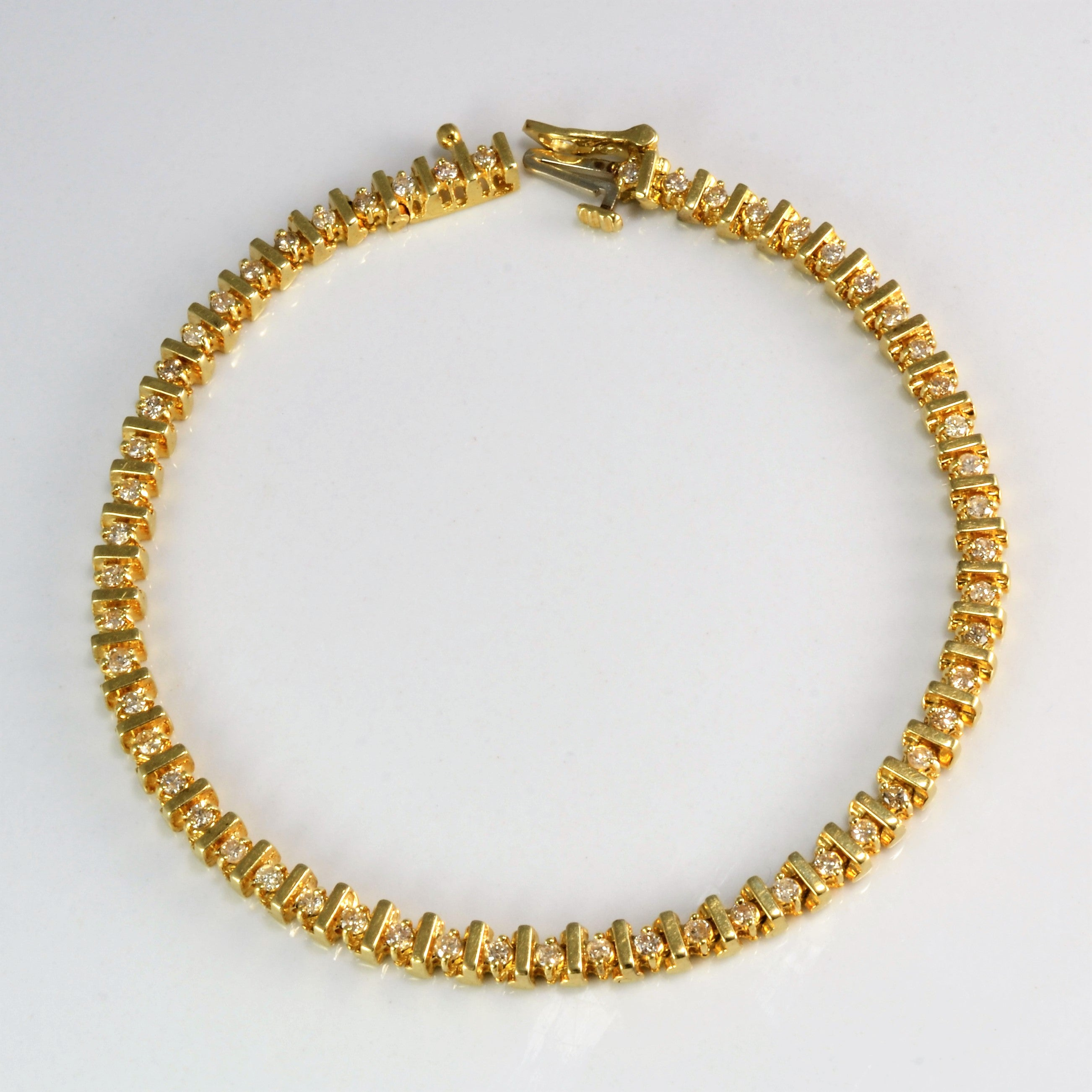 products yellow pineapple in gold bracelet