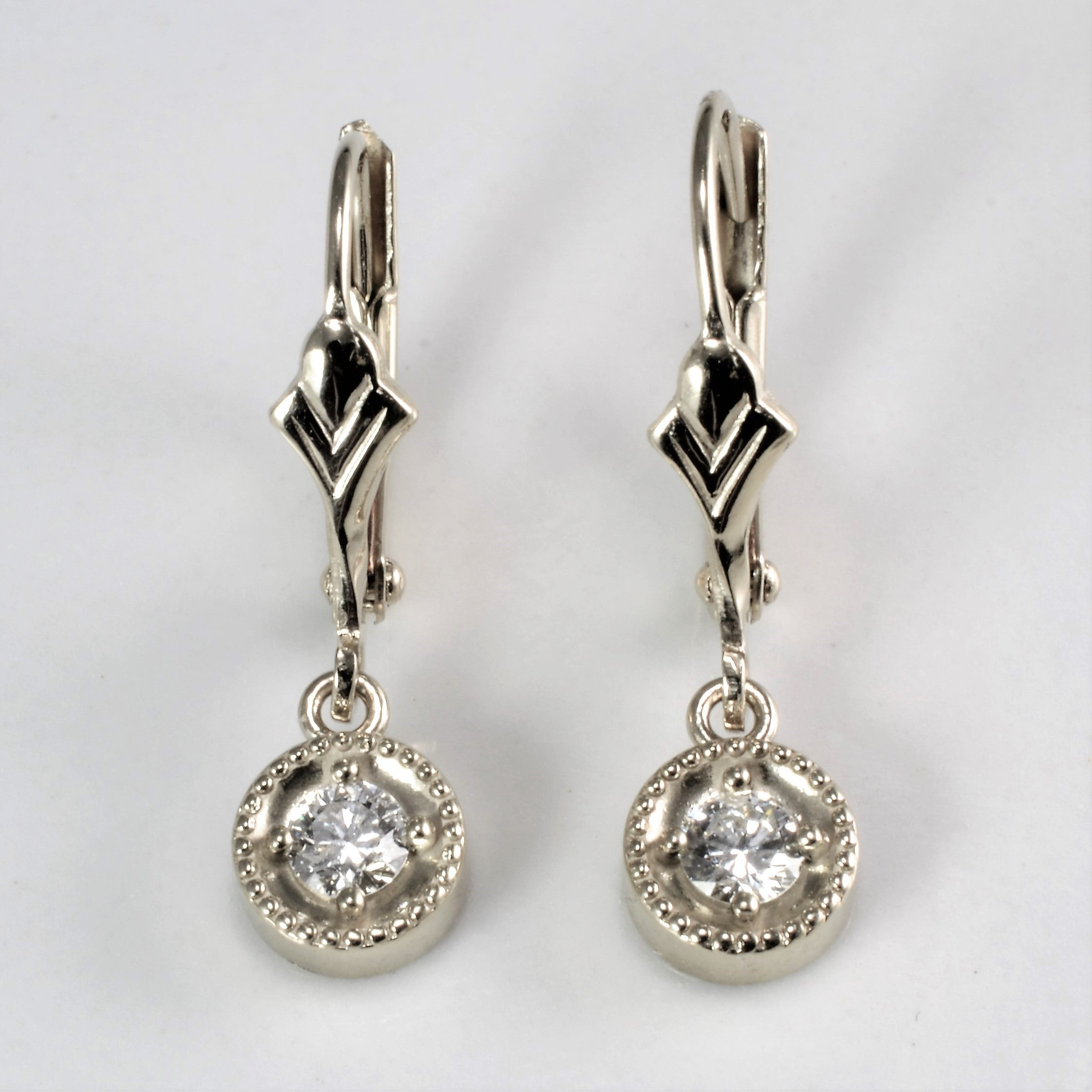 crystal solitaire free gold pierced rose plated swarovski diamond duty products earrings