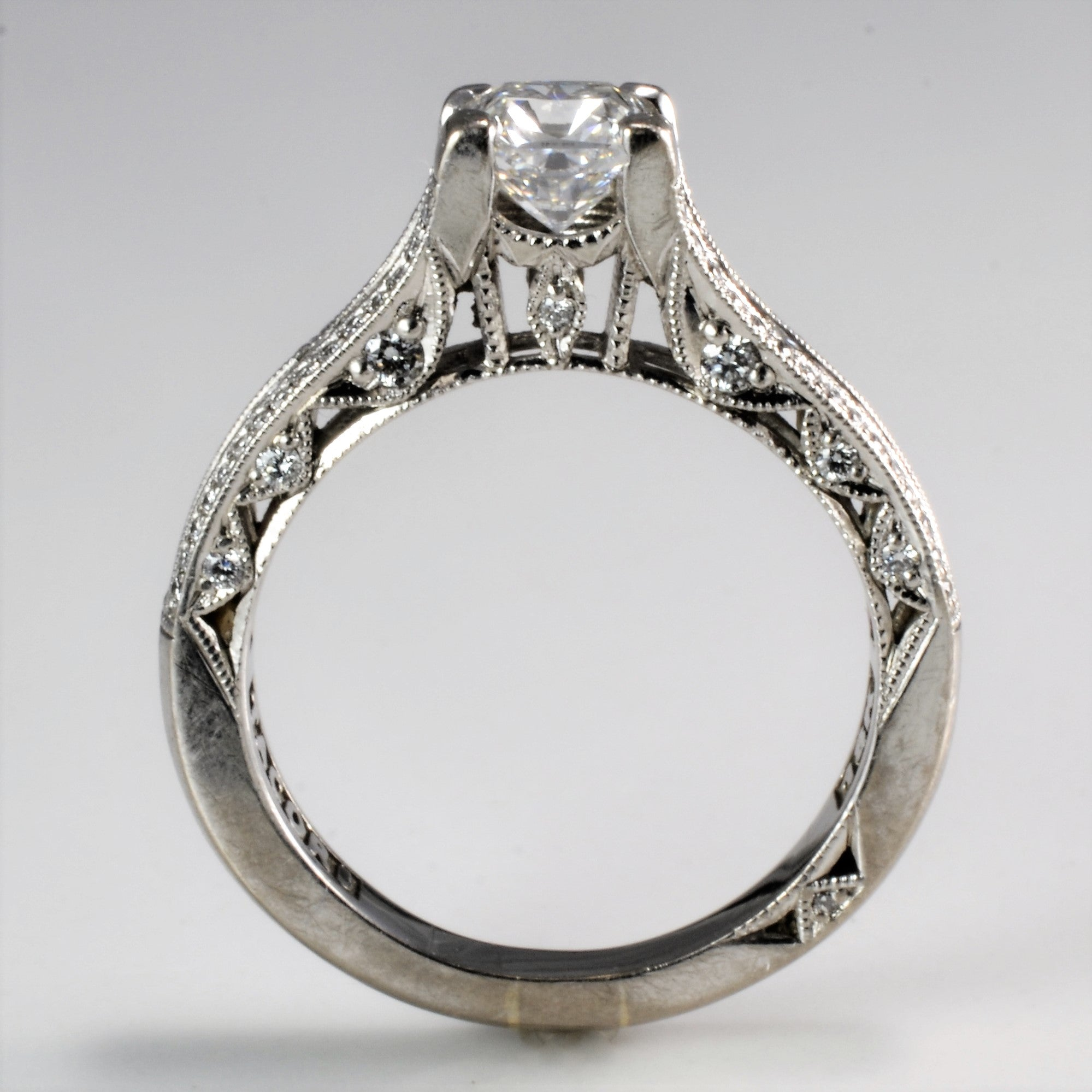 milgrain from diamond dress in platinum ring wedding manufacturers htm rings