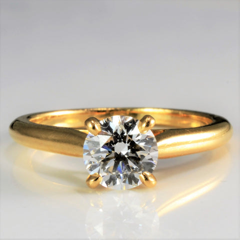 Cartier Solitaire Diamond Engagement Ring | 0.90 ct, SZ 6 |