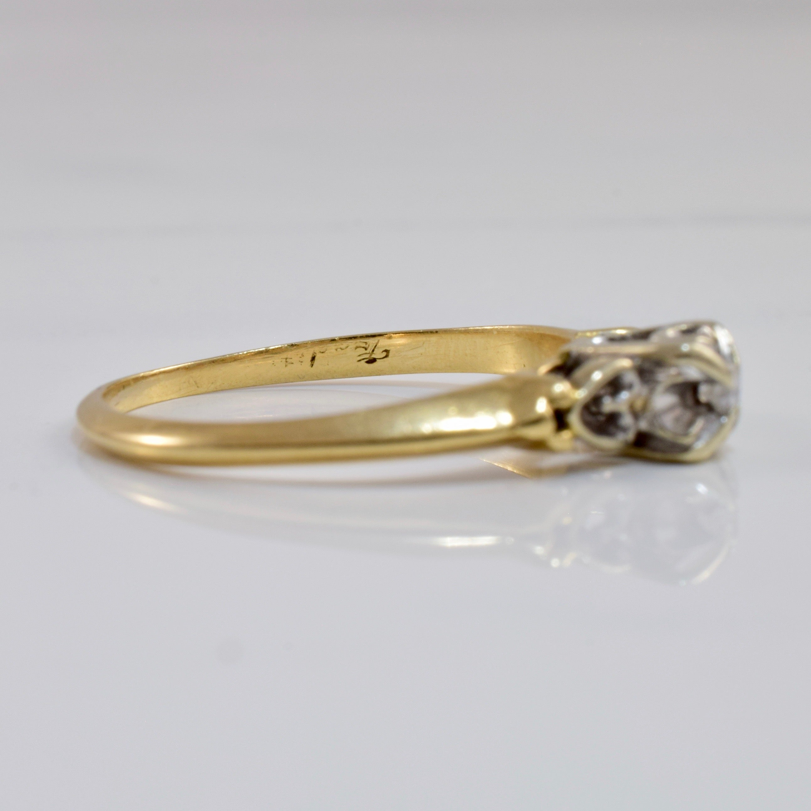 Diamond Promise Ring | 0.04 ctw SZ 7.25 |