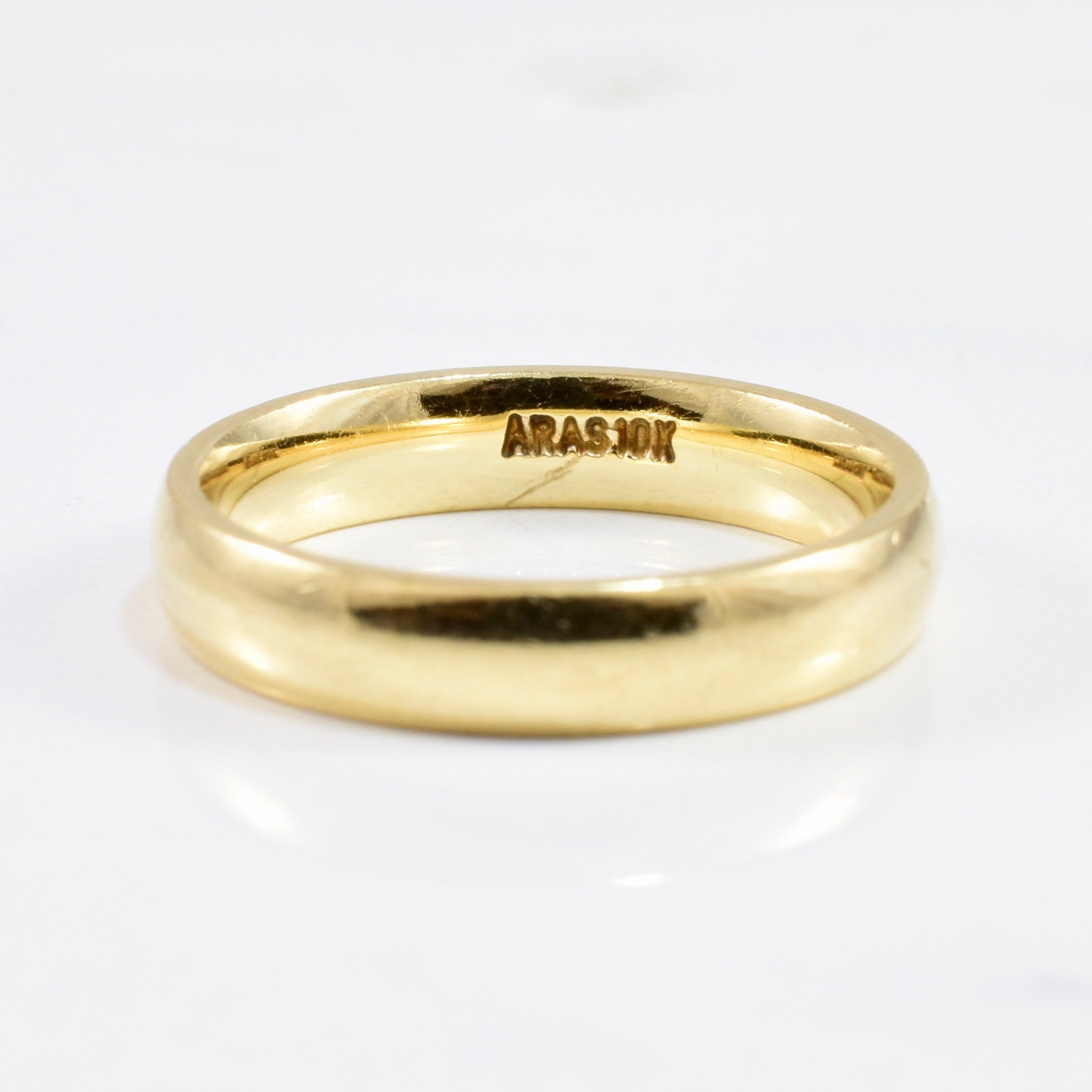 4mm Yellow Gold Band | SZ 7 |