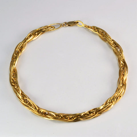 10K Gold Multi Link Chain Bracelet | 7.5''|