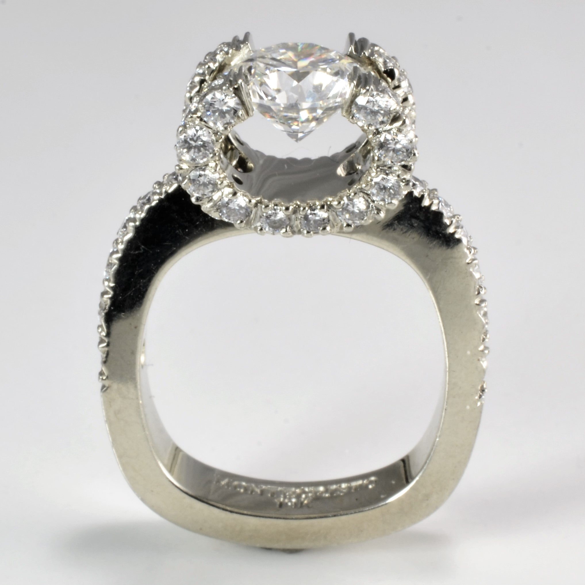 pav engagement yellow rings three r w product trellis diamonds trilogy ring stone with gold b pave in diamond