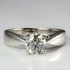 Solitaire Diamond Engagement Ring | 1.00 ct, SZ 6.5 |