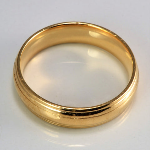 10K Gold Men's Wedding Band | SZ 12.5 |