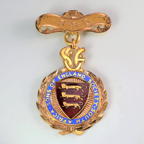 9K Yellow Gold Military Medal