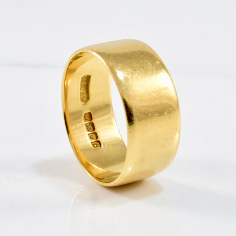 '1918' Wide Wedding Band | SZ 10 |