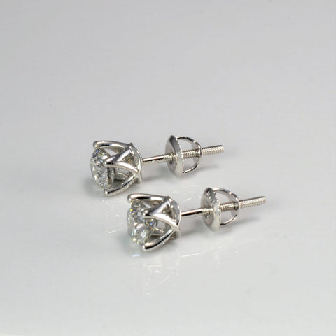 Diamond Stud Earrings | 0.80 ctw |