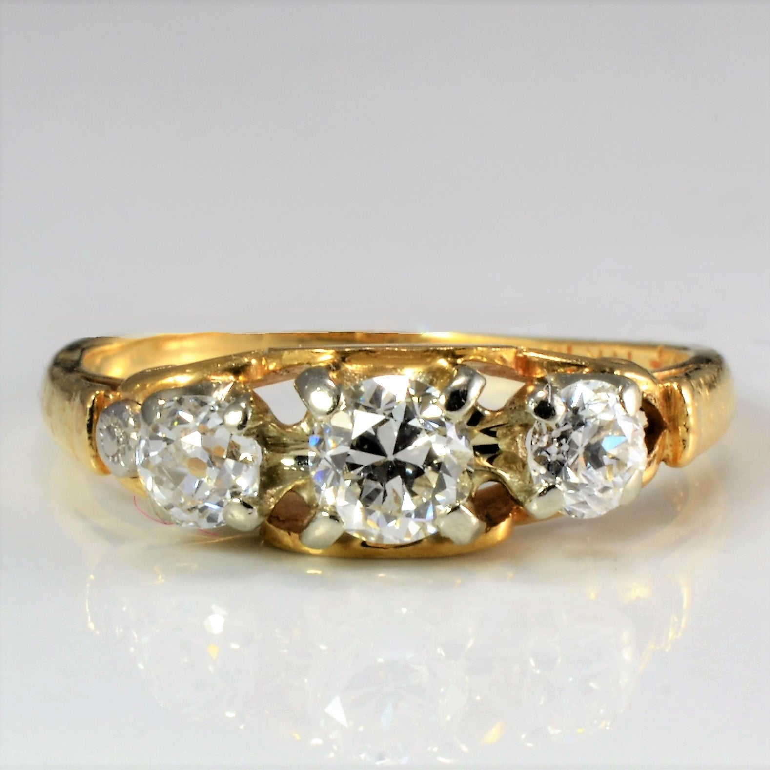 BIRKS Three Stone Diamond Ring | 0.60 ctw, SZ 5.75 |