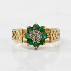 1970's Emerald Ring | 0.40ctw | SZ 6 |
