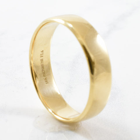 'Michael Hill' Gold Band | SZ 10.25 |