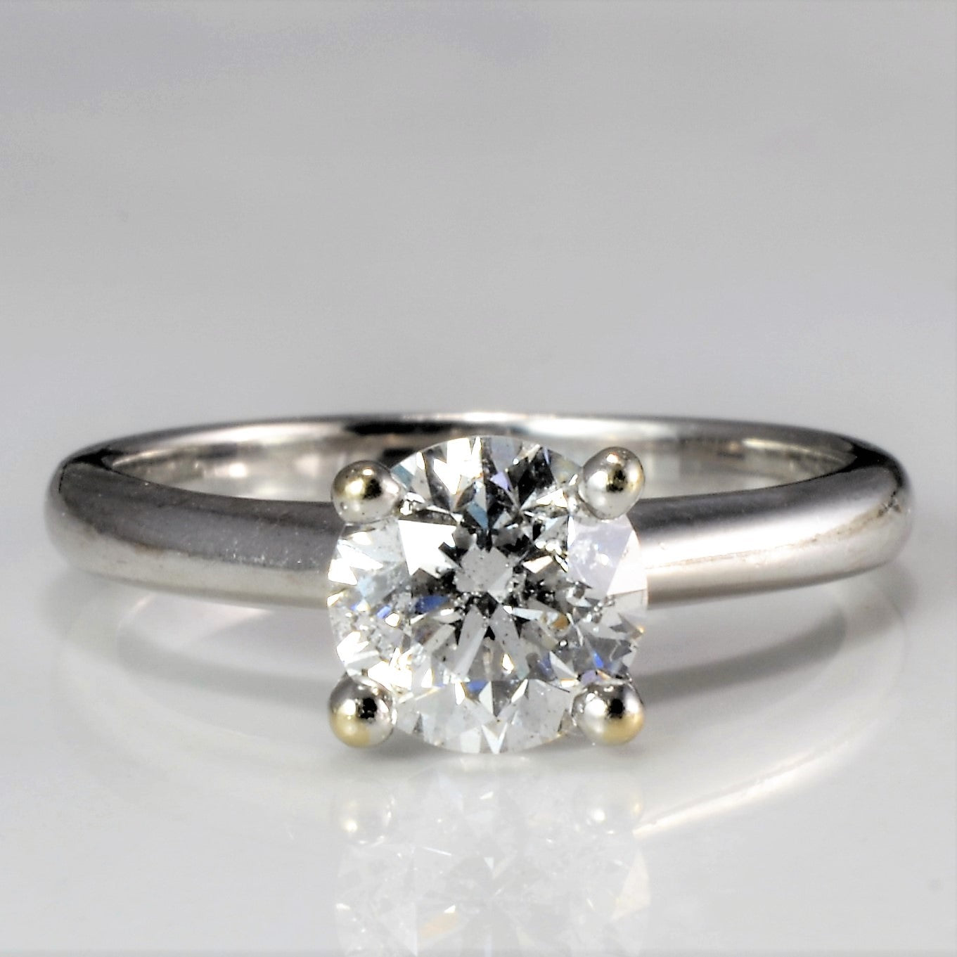 Solitaire Diamond Engagement Ring | 0.89 ct, SZ 5 |