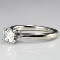 Tapered Diamond Engagement Ring | 0.75 ctw, SZ 5 |