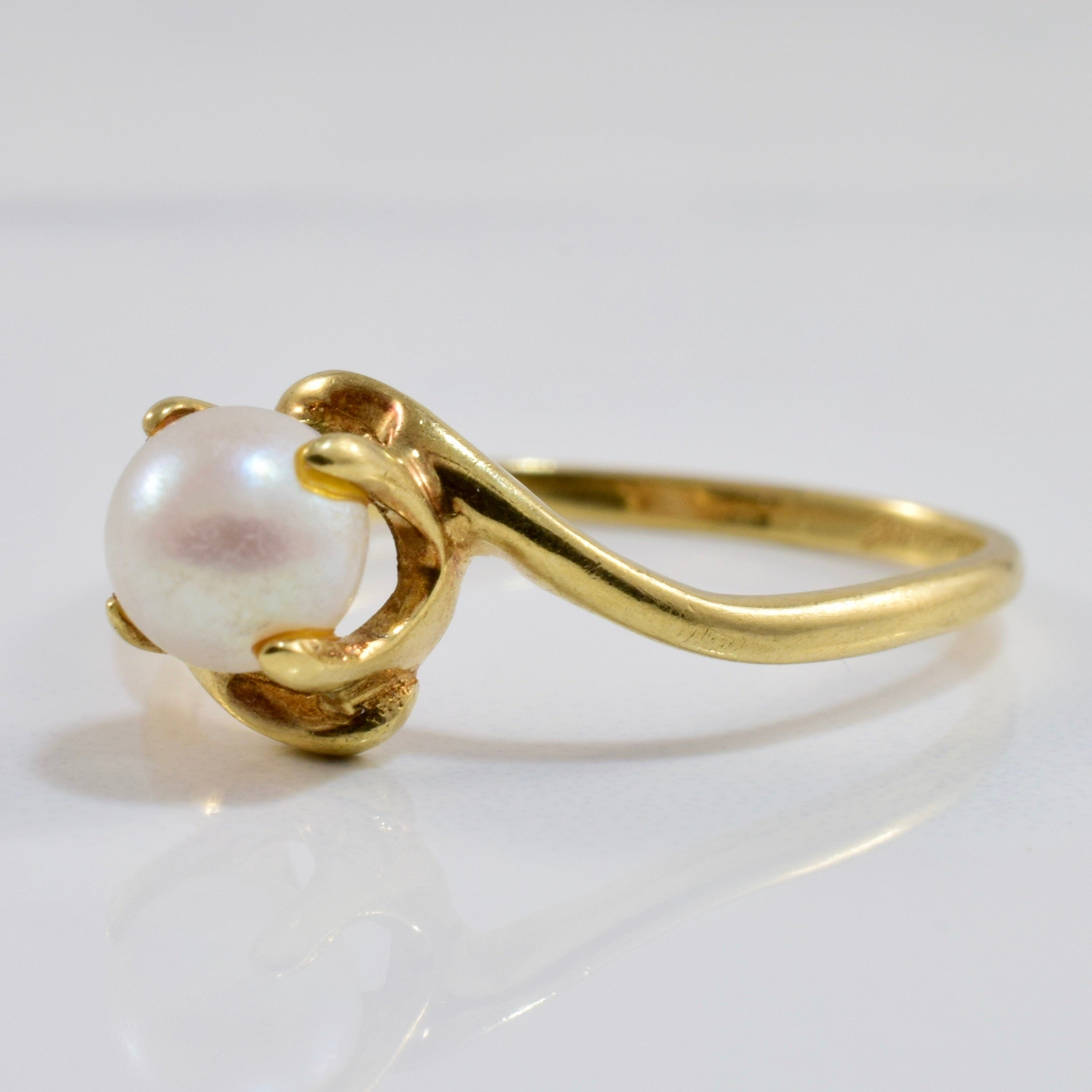Pearl Bypass Ring | SZ 7.5 |