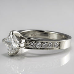 East West Princess Diamond Engagement Ring | 1.25 ctw, SZ 5.25 |