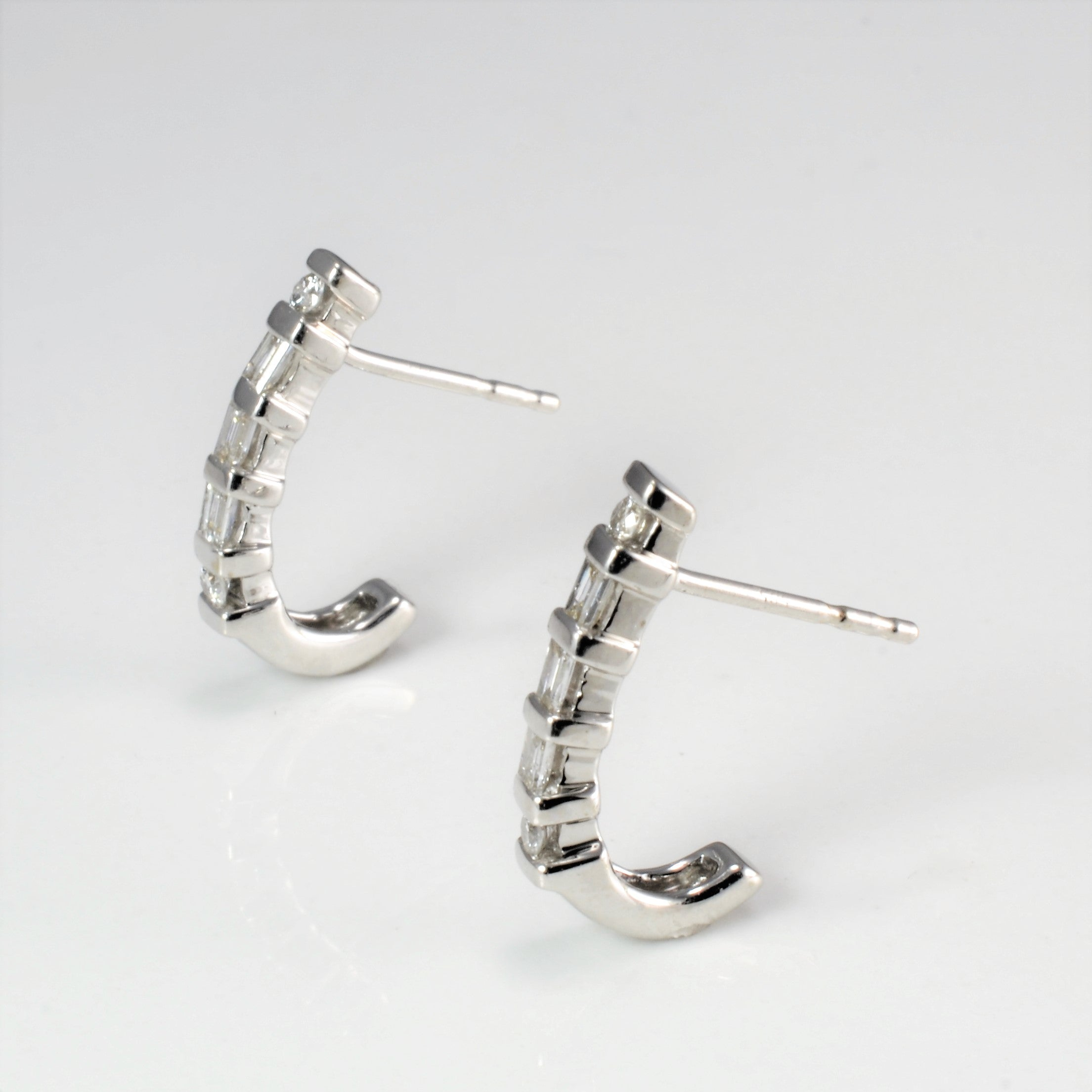 Multi Diamond Ladies Earrings | 0.24 ctw |