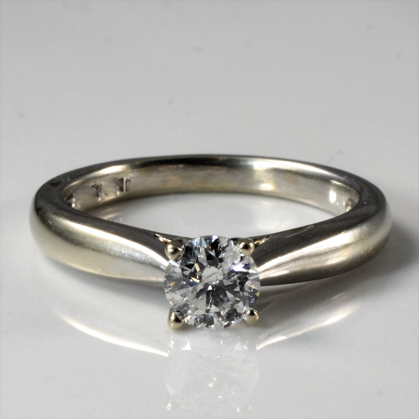Classic Solitaire Diamond Engagement Ring | 0.55ct | SZ 7 |