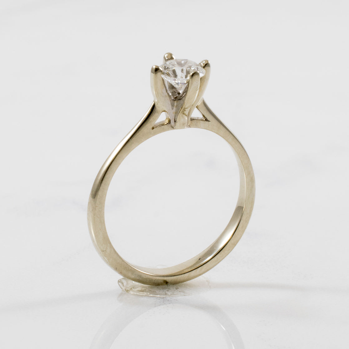 'Birks' Nordic Light Solitaire Engagement Ring | 0.36ct | SZ 4.25 |