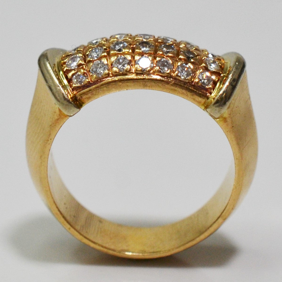 Four Row Diamond Ring | 0.70 ctw, SZ 6.75 |