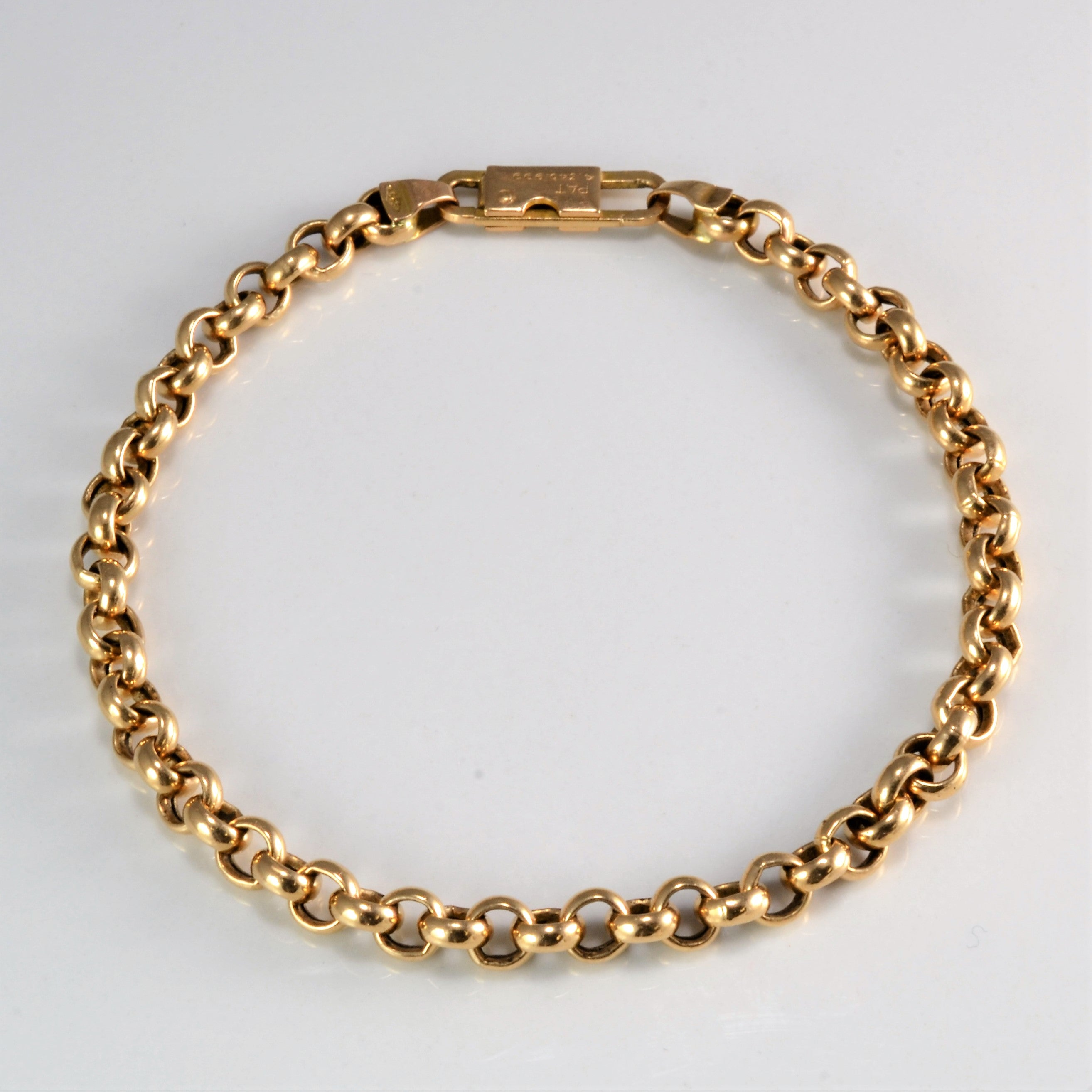 bangle gold yellow in bracelet