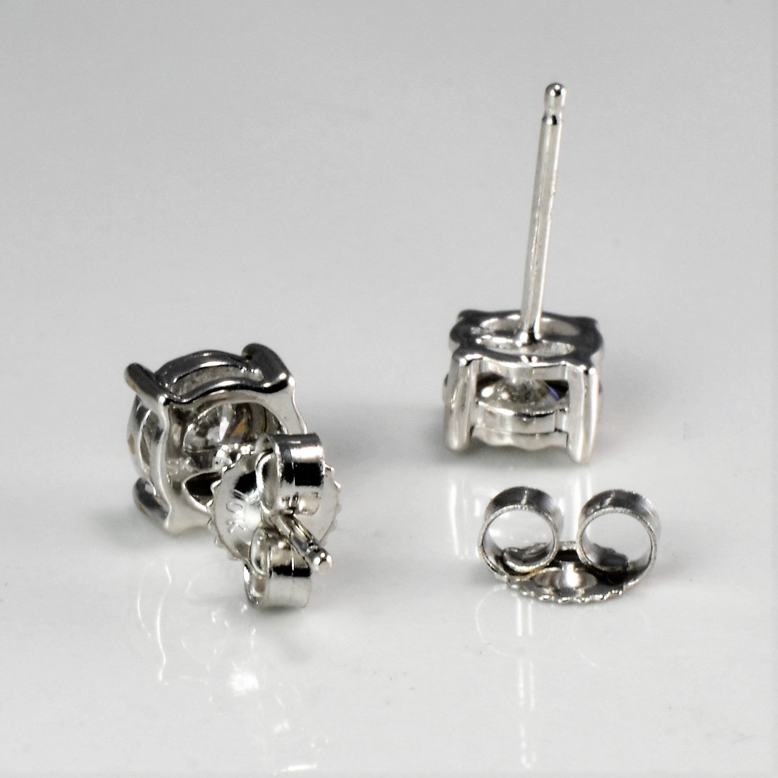 Illusion Set Diamond Stud Earrings | 0.30 ctw |