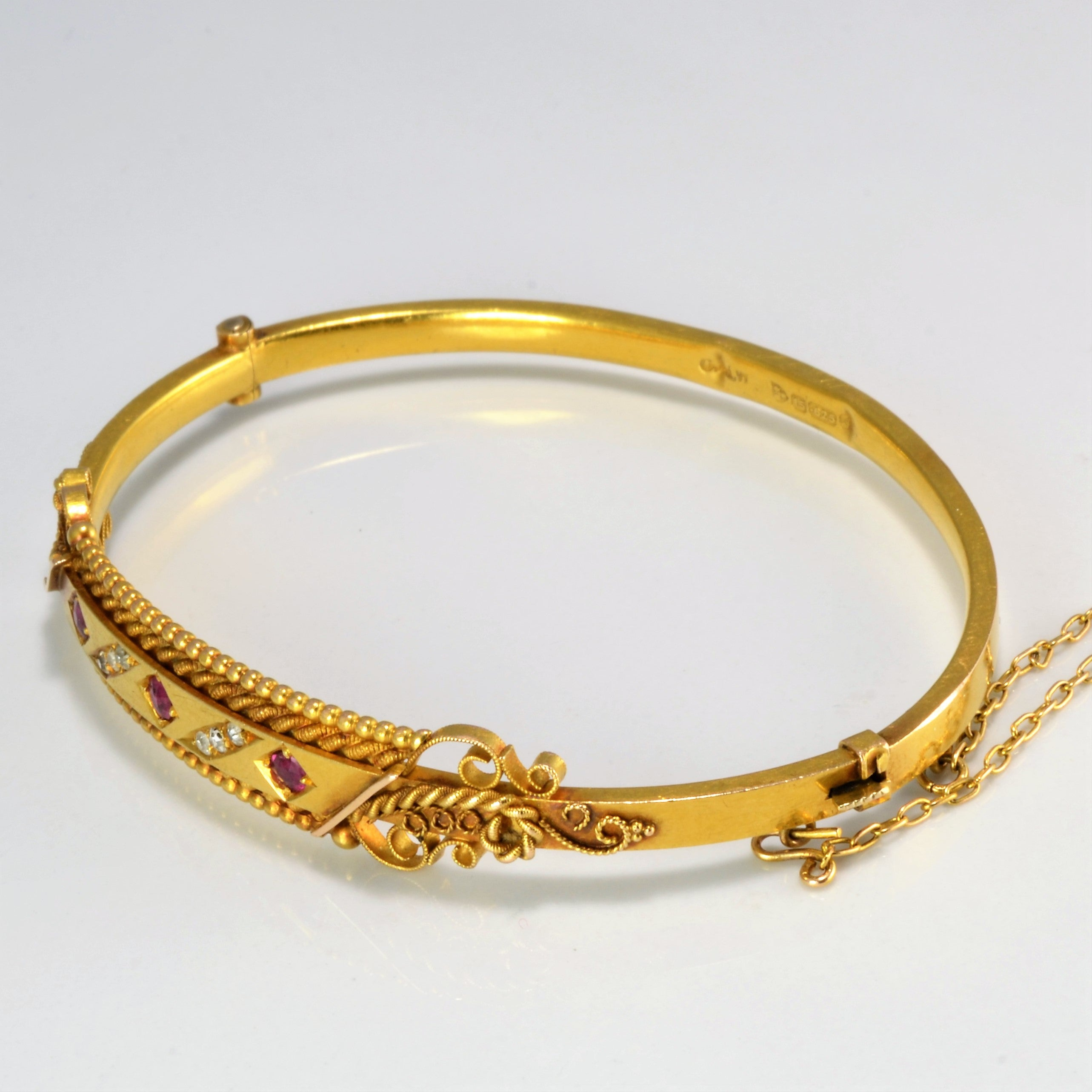 free product fremada bangles double shipping watches jewelry overstock gold today inches bracelet bypass bangle yellow