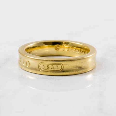 'Tiffany & Co.' 1837 Band | SZ 4.5 |