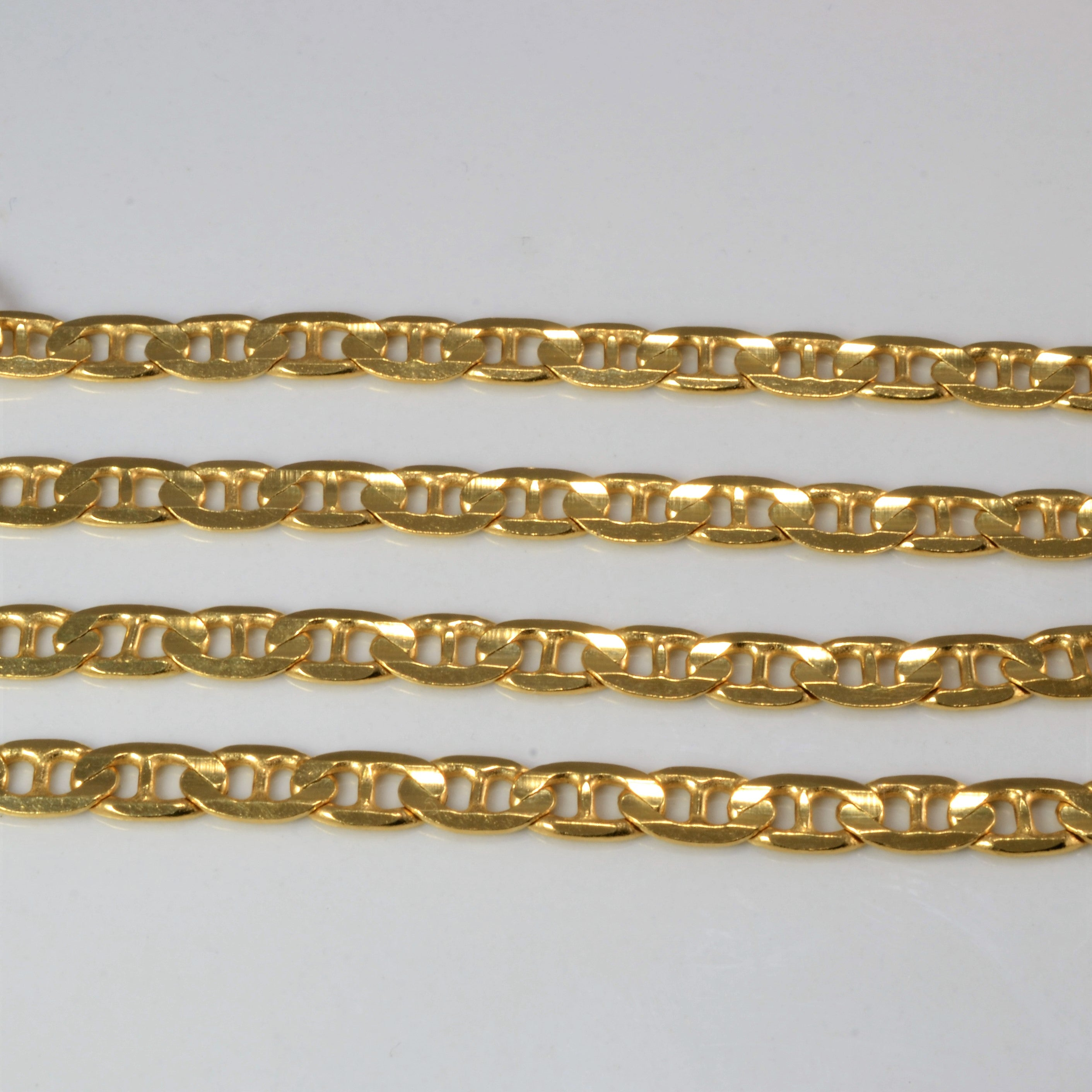 BIRKS 18K Gold Anchor Link Chain | 18''|