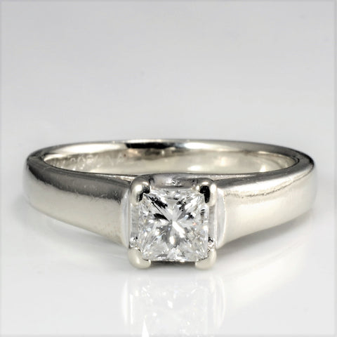Princess Diamond Engagement Ring | 0.43 ct, SZ 5 |