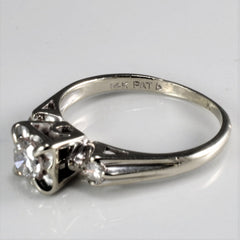 Three Stone Diamond Engagement Ring | 0.35 ctw, SZ 5 |