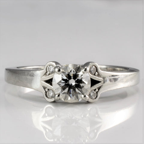 Cartier Diamond Ladies Engagement Ring | 0.52 ctw, SZ 4.5|