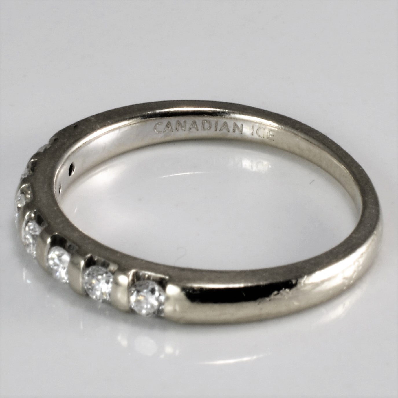 Ladies Diamond Wedding Band | 0.24 ctw, SZ 5.5 |