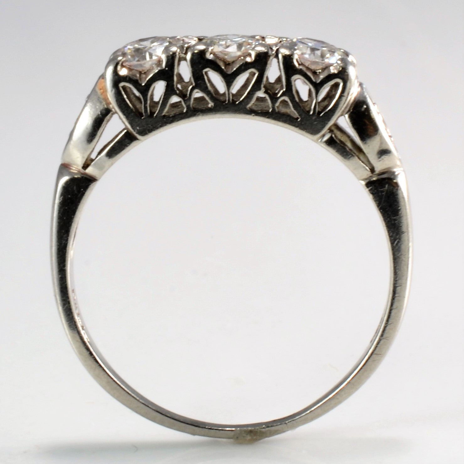 front custom handcrafted margaret ring engagement jean dousset crop daimond solitaire grey design diamond rings