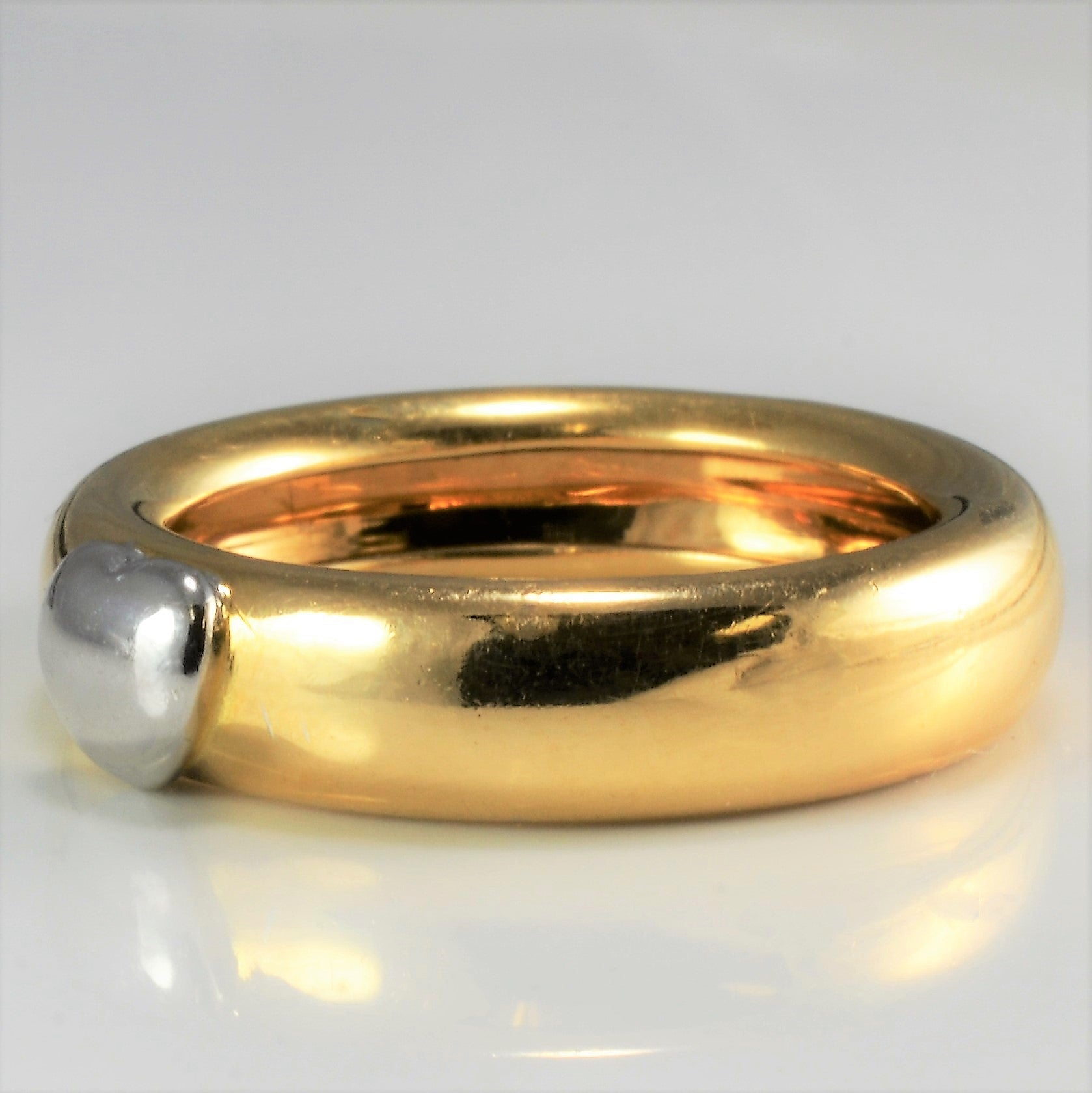 Tiffany & Co. 18K Gold Solid Band | SZ 6.75 |